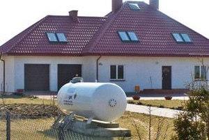 Газгольдеры для дачи   Автономная газификация загородного дома, дачи