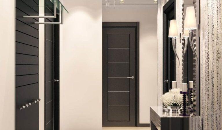 Прихожие для узких коридоров в квартире – дизайн, фото