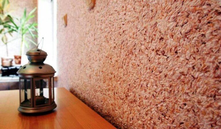 Ремонт квартиры: Жидкие обои – красивый результат на стене. Идеально и быстро.